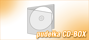 Pudełko CD-BOX do płyt CD/DVD - pudełko standardowe