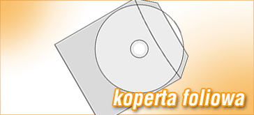 Koperta foliowa do płyt CD/DVD